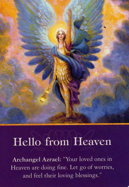 angel blog card